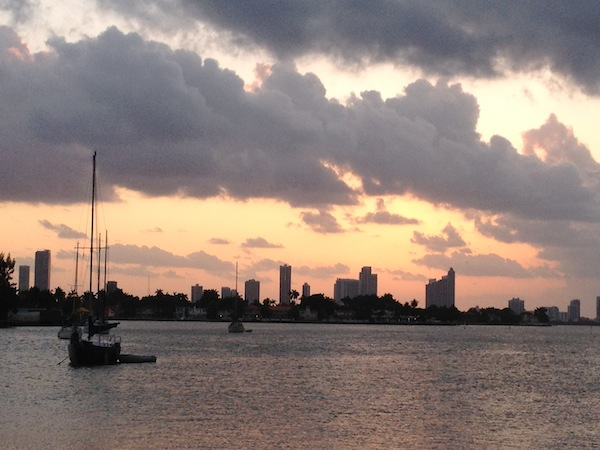 Biscayne Bay by Purdy Ave