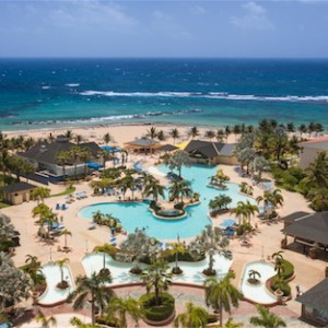 Aerial view of the St. Kitts Marriott. Image: St. Kitts Marriott