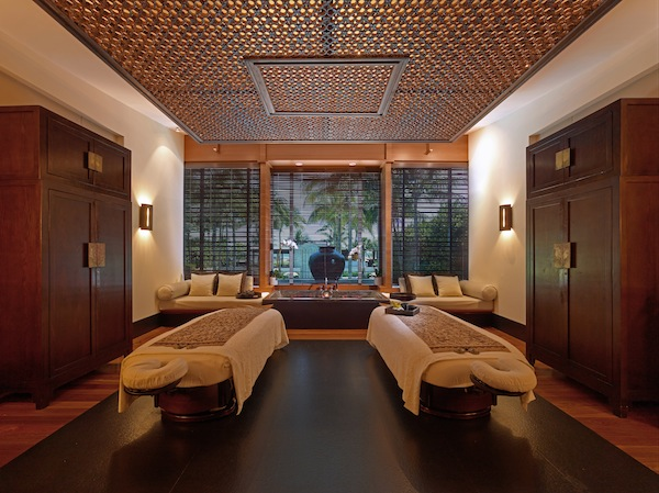 Spa suite at The Setai. Photo Credit: The Setai
