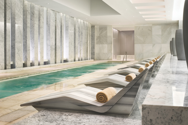 Mineral pool at Lapis Spa. Photo Credit: Fontainebleau Miami Beach