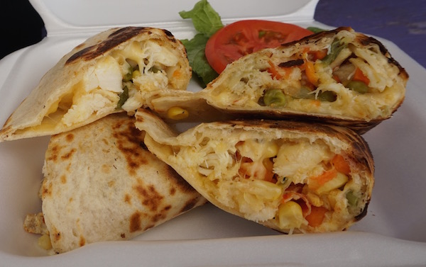 Lobster quesadillas at Hungry's.