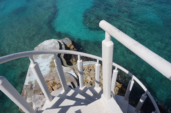 Stairway to heaven at Viceroy Anguilla.