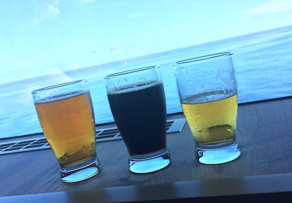 Brewskis at sea at the District Brewhouse.