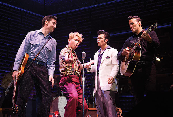 The cast of Million Dollar Quartet aboard the Escape. Photo courtesy of NCL.