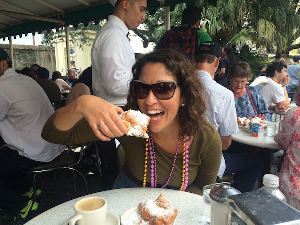 It's so nice, we had to come to Cafe du Monde twice!