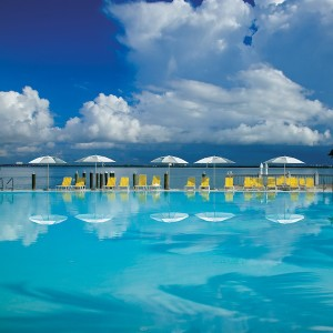 The pool at The Standard Spa Miami, my pick for the best hotel for locals.